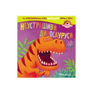 Neustrasivi dinosaurusi - knjiga sa iskakalicama- Mini Mondo