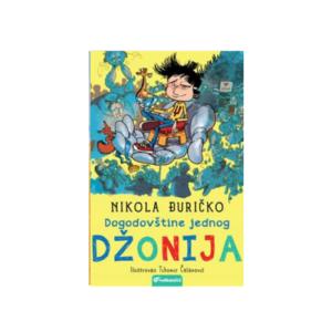Dogodovstine jednog Dzonija- price za decu- knjizara Mini Mondo
