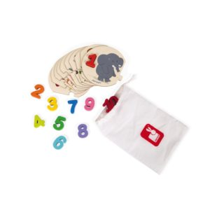Janod igracke -puzzle Ucimo da brojimo