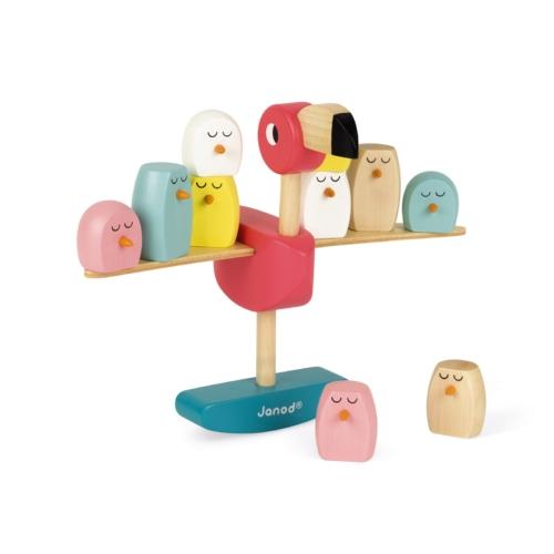 Igra balansiranja Flamingo Janod - Mini MOndo
