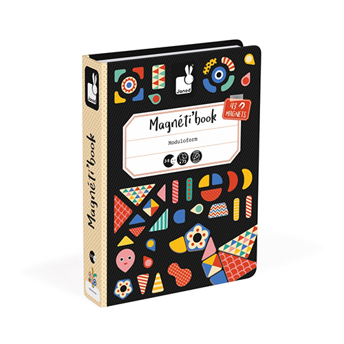 Janod magnetibook Oblici i boje Tangram