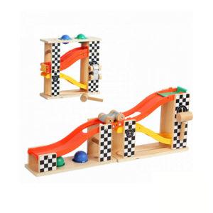 Dečija igračka Tobogan sa 2 trake, lopticama i čekićem