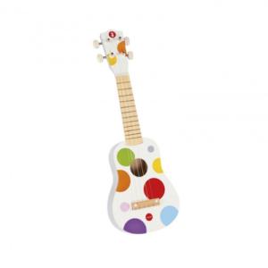 Drvena mala gitara Ukulele Janod knjizara Mini Mondo