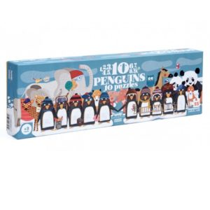 Londji puzla 10 pingvina Mini Mondo