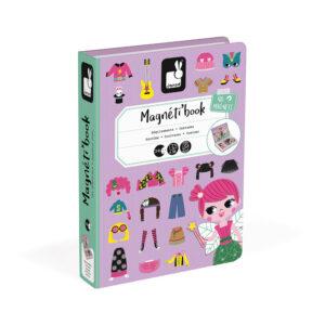 Janod Magneti Book Obuci devojčicu
