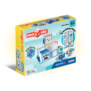 Geomag Magicube Polar animals knjizara Mini Mondo