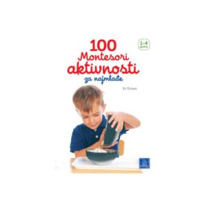 100 Montesori aktivnosti za najmladje knjizara Mini Mondo