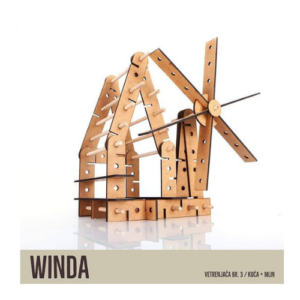 ArchiPlay Constructor Winda Mini Mondo