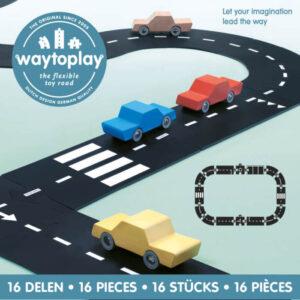 Way to Play staza za autiće 16 delova