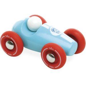 Vilac - Drveni auto plavi- mali drveni autić napravljen je po uzoru na formulu.