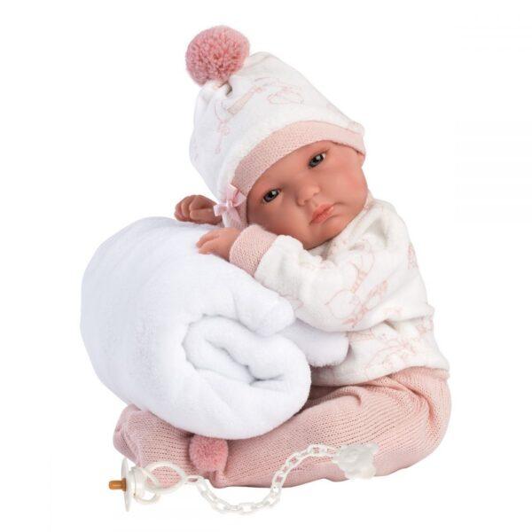 Llorens beba Bimba sa ćebencetom izrađena je sa mnogo pažnje i ljubavi u Španiji.