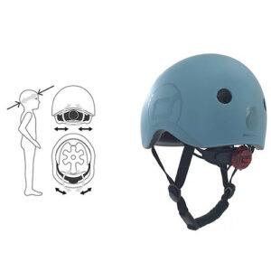 Kaciga za decu, Kaciga za bicikl, Kaciga Scoot and Ride