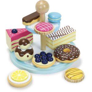 kolacici za devojcice, setovi za kuhinju za devojcice, vilac igracke, drvene igracke