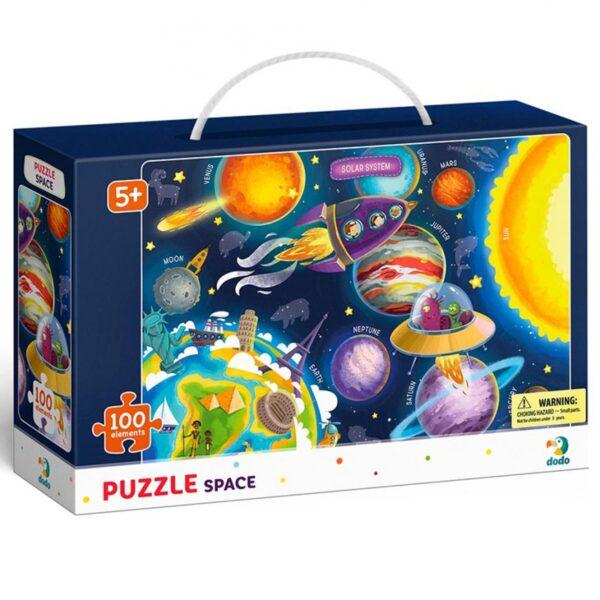 dodo puzzle. dodo slagalica, slagalica svemir, kosmos