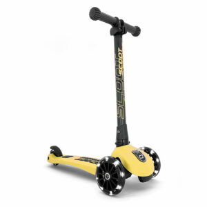 Trotinet Highwaykick 3 Lemon LED - Scoot and Ride