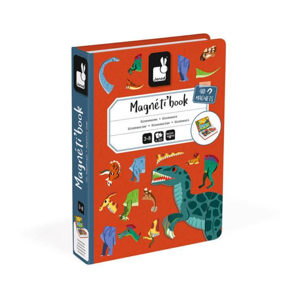 Janod Magneti-Book- Dinosaurusi