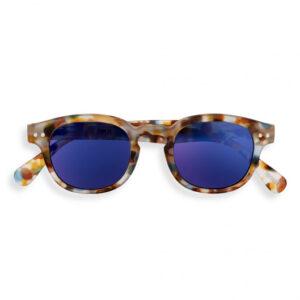 IZIPIZI - Sun Junior Tortoise Blue Mirror C