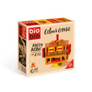 Bioblo - Colour combo Rusty Robo - 40 delova