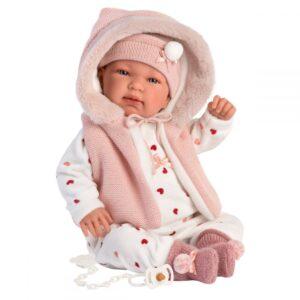 Llorens beba Tina sa kapuljačom