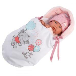 Llorens Lutka Tina u vreći za spavanje
